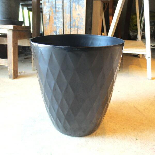 リッチェルキンバリー鉢カバー6号鉢サイズブラック薫る花観葉植物ミニインテリアグリーンプレゼントギフト