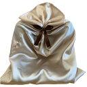 楽天conoMe(コノミイ)有料ラッピング シャンパンゴールドの袋+ブラウンのリボン(Styleシリーズ向け)