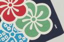[お弁当箱包み]綿の風呂敷 江戸千代紙の老舗 いせ辰のふろしき 大梅50cm 風呂敷専門店・唐草屋