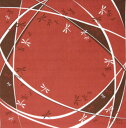 [お弁当箱包み]綿の風呂敷(ふろしき) 日本のかたち トンボ(エンジ)50cm 風呂敷専門店・唐草屋