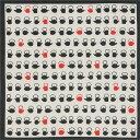 [お弁当箱包み]綿の風呂敷(ふろしき) 日本のかたち 鉄瓶(黒)50cm 風呂敷専門店・唐草屋