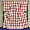米沢の染織家、諏訪好風氏の作品です。カジュアルな大人可愛い紬の訪問着!