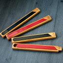 竹 バンブー 箸ケース 小21cm 大25cm 朱・黒 全4種