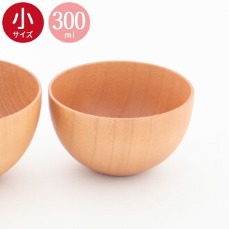 不被承受的碗木製多盤子白木(小)木製湯碗/醬湯/羹湯/半價以下/50/木製餐具