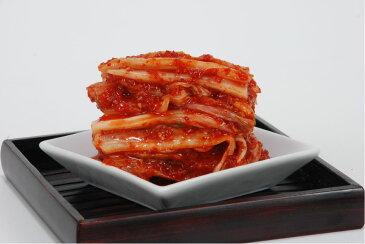 【鶴橋キムチ】・『本格』・【コリアタウン】白菜キムチ 【カット320g】