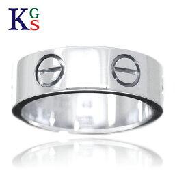 【新古品】【15号〜25号】<strong>カルティエ</strong>/Cartier / リング <strong>指輪</strong> メンズ / ラブリング ホワイトゴールド K18 750 WG B4084700