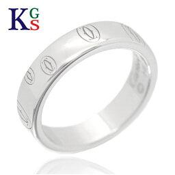【新古品】<strong>カルティエ</strong>/Cartier / ジュエリー <strong>指輪</strong> ハッピーバースデー ロゴリング K18WG 750 ホワイトゴールド B4050900