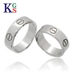 【新古品】【セット販売】【4号〜24号】/Cartier / <strong>カルティエ</strong> ペアリング / ラブリング LOVEring ホワイトゴールド K18 750 WG 2点 B4084752 / メンズ レディース マリッジリング 結婚<strong>指輪</strong>