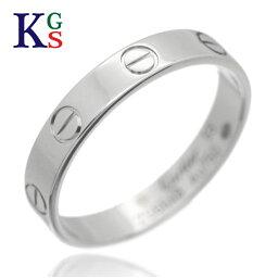 【新古品】【6号-23号】<strong>カルティエ</strong>/Cartier / ウェディング マリッジリング ミニラブリング / レディース メンズ ジュエリー 結婚<strong>指輪</strong> / Pt950 プラチナ / B4085300