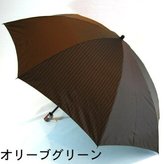 是先染提花機編織影子條紋漂亮的男子雨傘折疊☆未注册商標,但是是作爲雨傘機會供製造高質量的男性使用的的130206_free