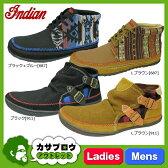 インディアンブーツ レディース メンズ Indian ID629 モカシン スリッポン シューズ コンチョ idhi