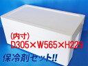 【運動会】【発泡スチロール(発砲スチロール) 箱 容器】保冷剤セット!!発泡スチロールBOX(大)
