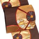 振袖 袋帯 仕立て付き 西陣織 購入 新品 販売 正絹 茶色...