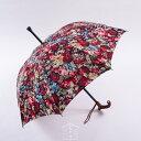 ★素敵なステッキ傘晴雨兼用 婦人杖傘エル ブラーエ(ドミナント ディープネイビー)婦人Lサイズ親骨60cm/全長約84cmサイズカット加工無料