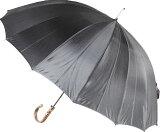 ◆ミスター・ジュピター(ソールズベリー・シャドウ - ブラック系) カーボン16本骨紳士傘