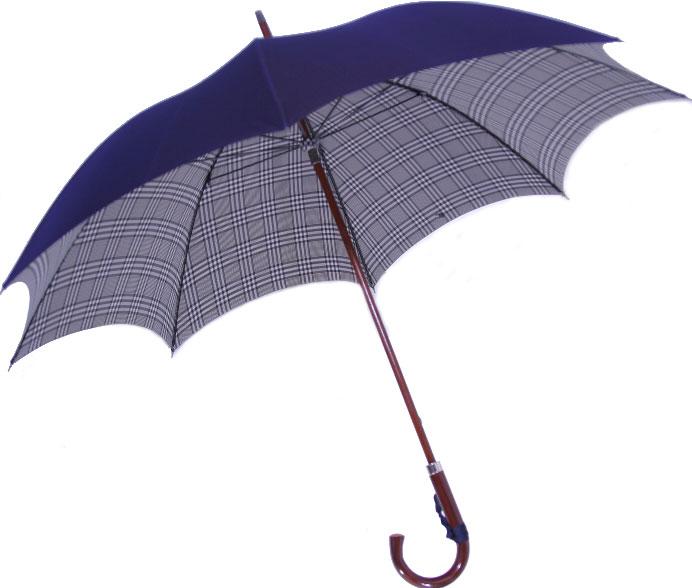 ◆米田正一 正絹紳士傘◆【受注作成】グレンチェッ...の商品画像