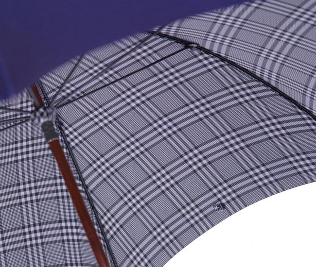 ◆米田正一 正絹紳士傘◆【受注作成】グレンチェ...の紹介画像2