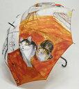 ショッピングマンハッタナーズ 【送料無料】 稀少価値商品 Manhattaner's(マンハッタナーズ)『猫の絵を描く仕事』軽量手開き プリント【あす楽対応】
