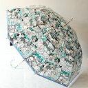婦人雨傘マンハッタナーズ レディース「群衆猫」P.O.E.(手開式)kobe-s1017