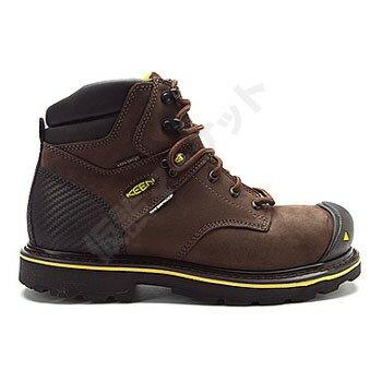 【新品】タコマ6 スチール トゥ BROWN:ブラウン 28.0cm [KEEN UTILITY] KEEN UTILITYの保安用品(安全靴)28.0cm 送料区分A(小荷物)