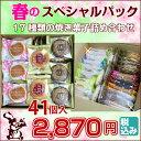 ポイント 5倍 2/16(金) 10:00〜・【 焼き菓子 詰め合わせ 】 春のスペシャルパック 4...