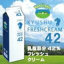 中沢乳業 九州フレッシュクリーム 42% 1000ml