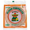 【冷凍】フラワートルティーヤ/flour tortilla 6インチ 10枚