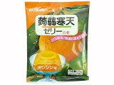 伊那食品 かんてんぱぱ蒟蒻(こんにゃく)寒天ゼリーの素 オレンジ 125g  10P13oct13a 【RCP】