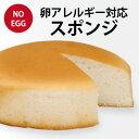 【アレルギー対応】卵アレルギー対応 スポンジケーキ(冷凍配送)  卵 アレルギー クリスマス