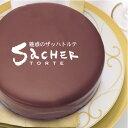 (あす楽)TV・雑誌でウワサのチョコレートケーキ!魅惑のザッハトルテ(ケーキ/チョコレート/誕生日/お祝い/スイーツ/バレンタイン/ホワイトデー)10P01Mar15