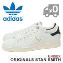 アディダス オリジナルス スタンスミス メンズ レディース レザースニーカー ランニングホワイト/カレッジネイビー(AQ4651) adidas Originals STAN SMITH 送料無料