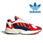 送料無料 アディダス オリジナルス ヤング メンズ レディース スニーカー ダッドシューズ ダッドスニーカー 靴 ホワイト レッド ネイビー ブラック adidas originals YUNG 1 B37615