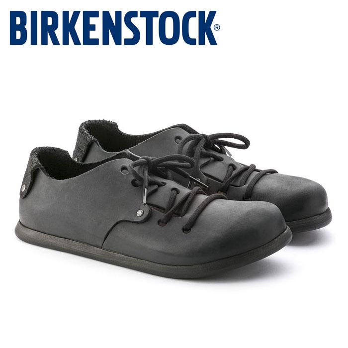 送料無料 ビルケンシュトック モンタナ メンズ レディース レザーシューズ 黒 ブラック 靴 本革 レザー 定番 コンフォートシューズ Birkenstock MONTANA 199263