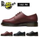 ショッピング送料込 送料無料 ドクターマーチン Dr.Martens 1461PW 3ホール プレーンウェルト レースアップ シューズ ブーツ メンズ レディース チェリーレッド ネイビー ブラック ローカット DrMartens CORE 1461 3EYE SMOOTH 0116