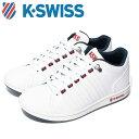 Kスイス ケースイス KSL 01 メンズ レディース ホワイト トリコロール 白 赤 青 スニーカ...
