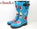 シアトル発の注目ブランドが本格上陸★レビューを書いて送料無料★chooka Rain Boots TATTOO CITY TURQUOISE チューカ レインブーツ タトゥーシティー ターコイズ rubber boots ラバーブーツ 長靴 【レインウェア★0306】