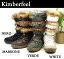★レビューを書いて送料無料 KIMBERFEEL BRENDA SNOW BOOT UGG(アグ)やemu(エミュー)のムートンブーツも良いけど、今年はキンバーフィールのスノーブーツはおすすめ