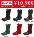 レビューを書いて送料無料 HUNTER ORIGINAL SHORT ハンター オリジナルショート レインブーツ 長靴 ラバーブーツ aigle(エーグル)や、CHOOKAもいいですが、正統派ブーツのHUNTERは外せません。