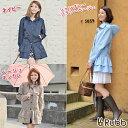◆レビューを書いて送料無料◆Rubb ONE PIECE RBW102 ラブ ワンピース レインコート レインワンピース ネイビー ベージュ ギンガムチェック シャンブレー レディース 女性用 レインウェア rain coat