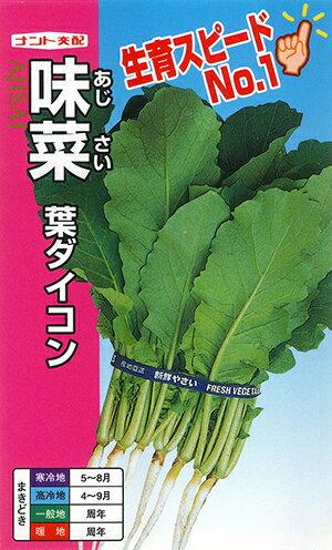 味菜(アジサイ)[種子:小袋20ml入(約800粒)]