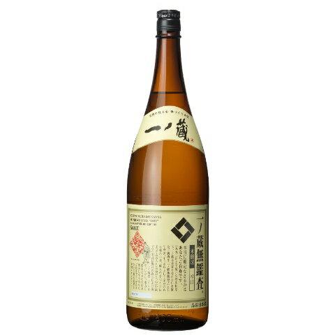 日本酒一ノ蔵(いちのくら)無鑑査辛口本醸造1800ml