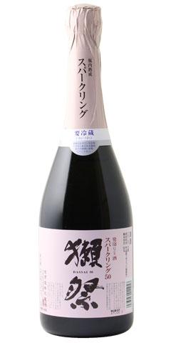 日本酒獺祭(だっさい)発泡にごり酒50720ml※クール便発送※お一人様6本迄