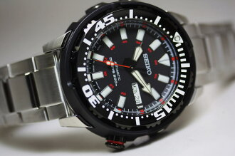 Made in Japan! Diver SEIKO200m waterproof automatic winding watch / wristwatch /Superior