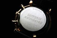 限定1000本!SEIKO【セイコー】×SOTTSASSDESIGN【ソットサス】復刻限定モデル/クロノグラフ腕時計