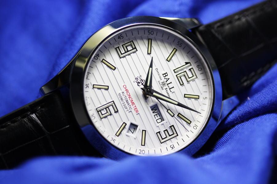 スイス製BALL WATCH【ボール・ウォッチ】アラビック・クロノメーター自動巻き腕時計/並行輸入品