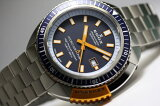 大特価!世界限定350本のスイス製EDOX【エドックス】HYDROSUB【ハイドロサブ】ノースポール リミテッドエディション自動巻き腕時計/500m防水/並行輸入品