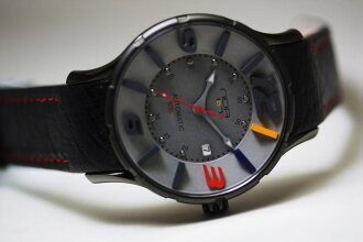 World limited 245 book N.O.A16.75 NISHIKIGOI ( nishikigoi ) self-winding wristwatch / design watch