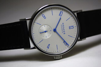 Limited Edition 100 books! Made in Germany NOMOSTangomatBlau blue automatic winding watch / manufacture