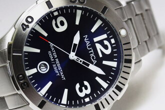 !NAUTICA blue-collar dial
