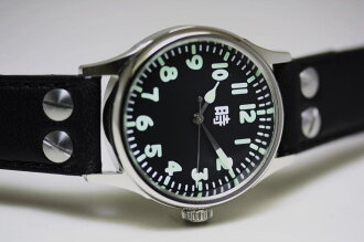 Reprint of Japan Japan army type 100 flight watch! Case diameter 35 mm / kinetic models easy-to-use! / チビミリタリー / watch